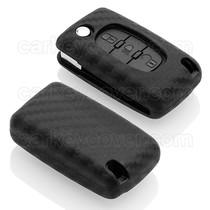 Peugeot Car key cover - Carbon