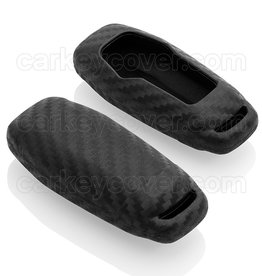 Ford Capa Silicone Chave - Carbon