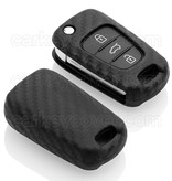 Hyundai Housse de protection clé - Carbon