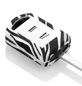 Opel Car key cover - Zebra