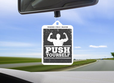 Air fresheners by Freshations - Fitness Collection