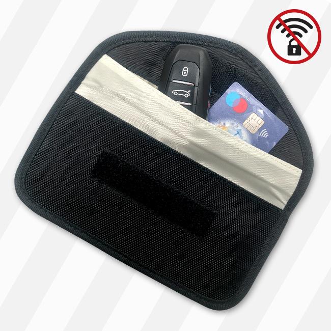 TBU car Schlüsseltasche Signal Blocker - Anti-Hacking RFID-2 Diebstahlschutz (Large)