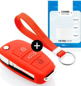 Audi Schlüssel Hülle - Rot