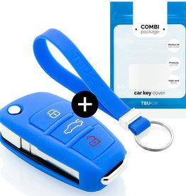 Audi Schlüssel Hülle - Blau