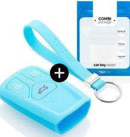 Audi Car key cover - Light blue