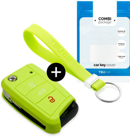 Audi Car key cover - Verde lima