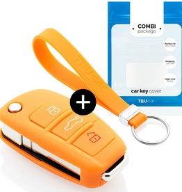 Audi Schlüsselhülle - Orange