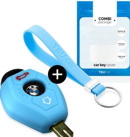 TBU car BMW Sleutel Cover - Lichtblauw