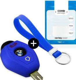 BMW Car key cover - Azul
