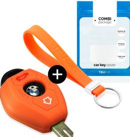 BMW Car key cover - Orange