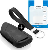 BMW Car key cover - Silicone Protective Remote Key Shell - FOB Case Cover - Black