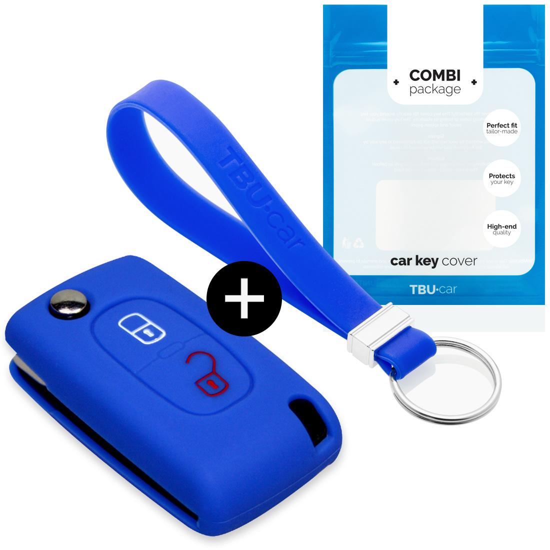 Citroën Car key cover - Azul