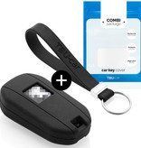 Citroën Car key cover - Silicone Protective Remote Key Shell - FOB Case Cover - Black