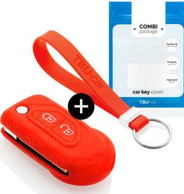 Citroën Schlüssel Hülle - Rot