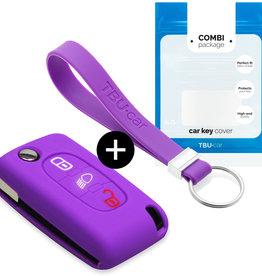 Citroën Car key cover - Purple