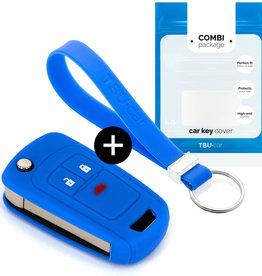 Chevrolet Schlüssel Hülle - Blau