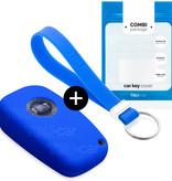 Fiat Car key cover - Azul