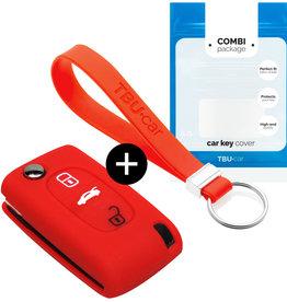 Fiat Car key cover - Vermelho