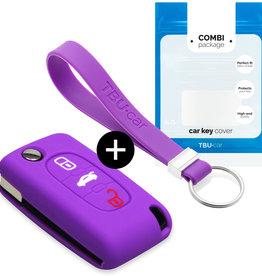 Fiat Schlüsselhülle - Violett