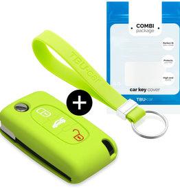 Fiat Car key cover - Verde lima