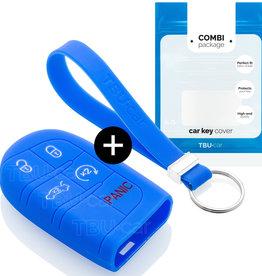 Fiat Schlüssel Hülle - Blau