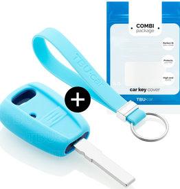 Fiat Car key cover - Light Blue