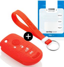 Fiat Schlüssel Hülle – Rot