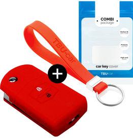 Mazda Car key cover - Red