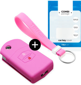 Mazda Car key cover - Pink