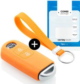 TBU car Mazda Schlüsselhülle - Orange