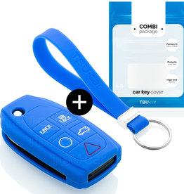 Volvo Schlüssel Hülle - Blau