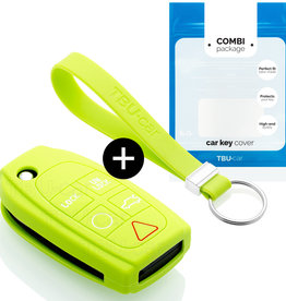 Volvo Car key cover - Lime