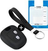 Toyota Car key cover - Silicone Protective Remote Key Shell - FOB Case Cover - Black