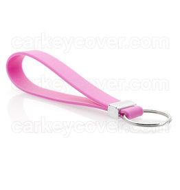 TBU car Keychain - Silicone - Pink