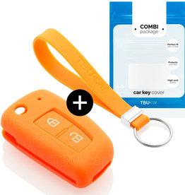 Nissan Schlüssel Hülle - Orange