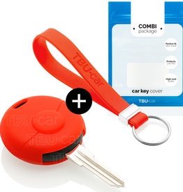 Smart Car key cover - Red