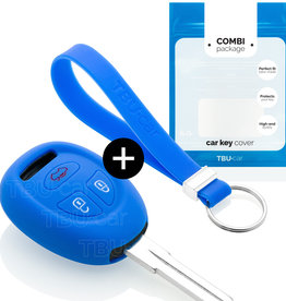 Saab Schlüsselhülle - Blau