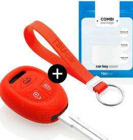 Saab Schlüsselhülle - Rot