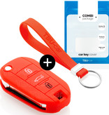 Opel Car key cover - Red