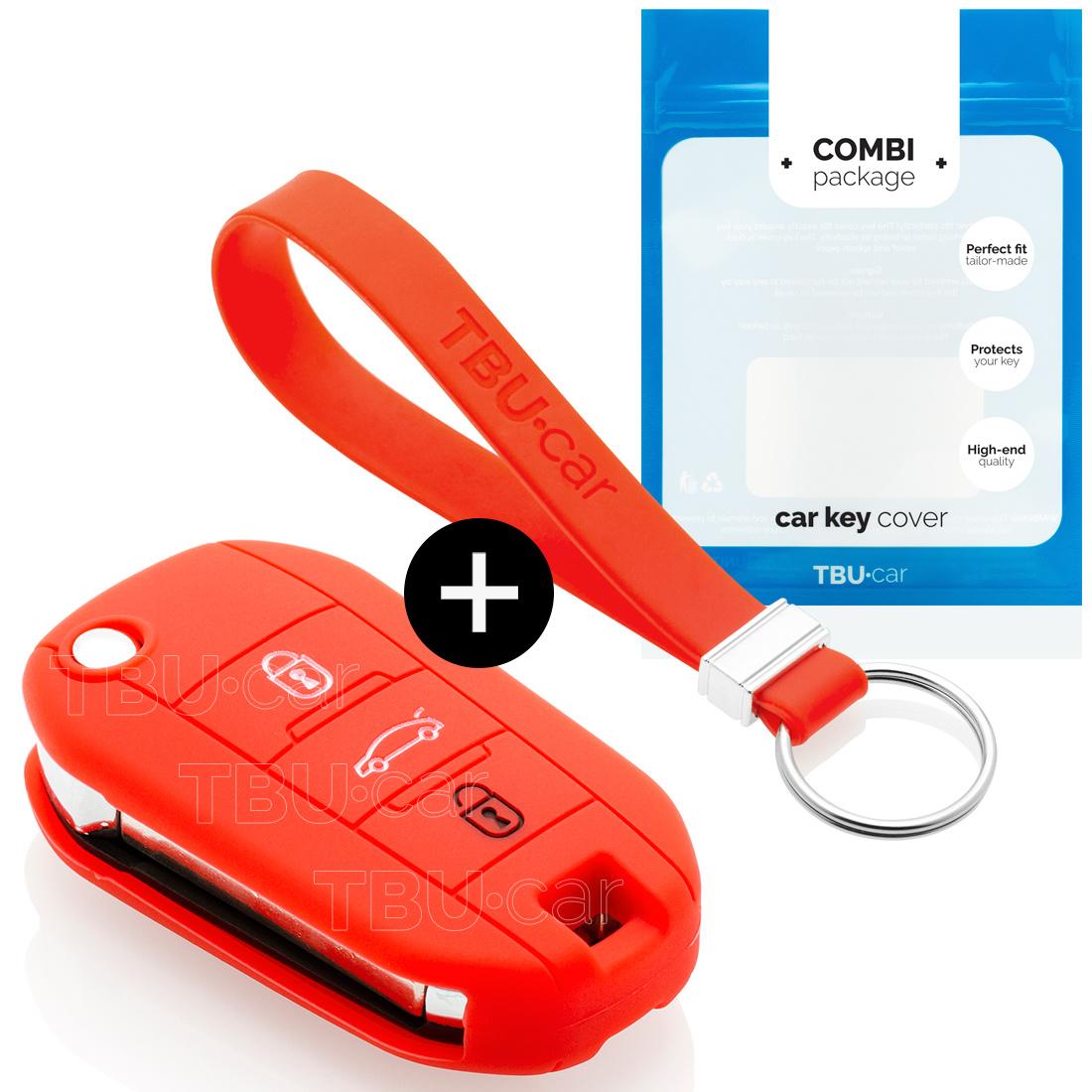 Opel Schlüssel Hülle - Rot
