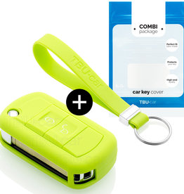 Land Rover Car key cover - Lime