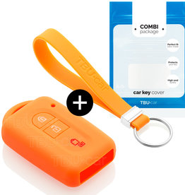 Nissan Car key cover - Orange