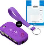 Ford Schlüssel Hülle - Violett