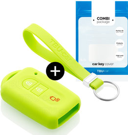 Nissan Car key cover - Lime