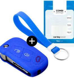 Ford Car key cover - Blue