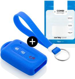 Nissan Capa Silicone Chave - Azul