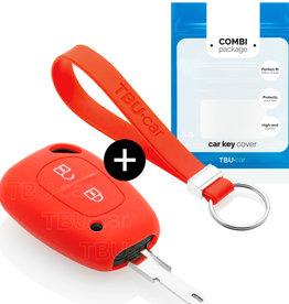 Nissan Schlüssel Hülle - Rot