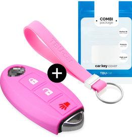 Nissan Car key cover - Rosa