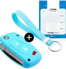 Lancia Car key cover - Azul claro