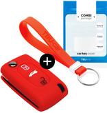 Lancia Car key cover - Vermelho